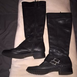Calvin Klein leather boots 8.5
